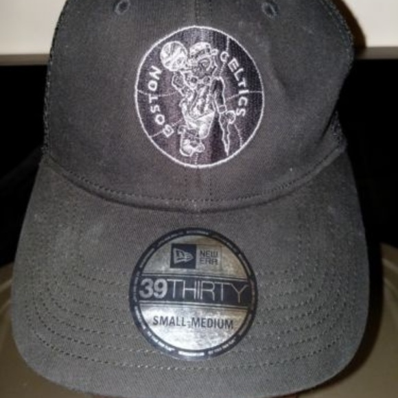 wholesale dealer 7008d 905a8 New Era Boston Celtics Black Hat Nba Basketball Sm